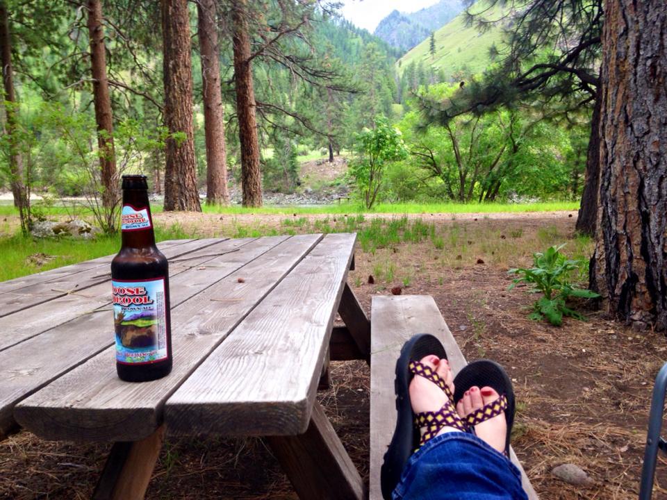 Corn Creek picnic